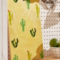 Hello Sayang For Deny Cactus Madness Cutting Board | Urban Outfitters