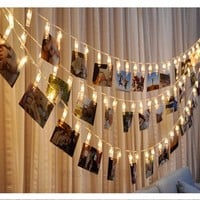Photo Clips String Lights