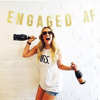 ENGAGED AF Party Banner