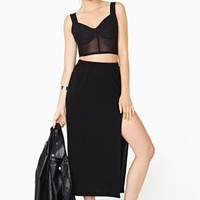 Nasty Gal High Places Skirt