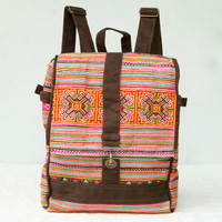 Backpack Purse Ethnic Tribe Embroidered School/Diaper bag