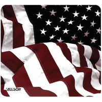 ALLSOP 29302 Old-Fashioned American Flag Mouse Pad