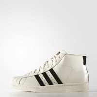 adidas Pro Model Vintage DLX Shoes - White | adidas Regional