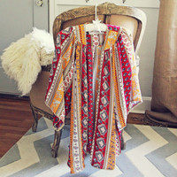 Indian Summer Duster