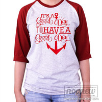 It's a good day to have a good day shirt Baseball tee shirt Raglan shirt Baseball T-Shirt Harry shirt Unisex - S M L XL 2XL