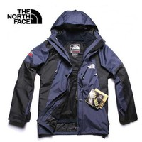 The north Face fashion trend male charge suit