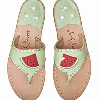Exclusive Watermelong Sandal Mint - Jack Rogers USA
