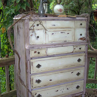 Shabby Dresser by junkdrawerdivas on Etsy