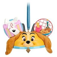 Lady and the Tramp Ear Hat Ornament | Disney Store