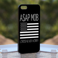 Asap Rocky Gold Vsvp Jet Trills - Design available for iPhone 4 / 4S and iPhone 5 Case - black, white and clear cases