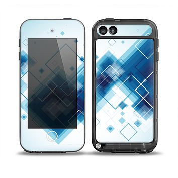 The Blue Levitating Squares Skin for the iPod Touch 5th Generation frē LifeProof Case