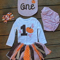 fall first birthday outfit, pink pumpkin birthday outfit, 1st birthday outfit, baby party dress, fall pink birthday, 1st birthday pumpkin