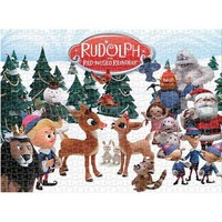 Aquarius Rudolph The Red Nosed Reindeer Christmas Puzzle - Puzzle Haven