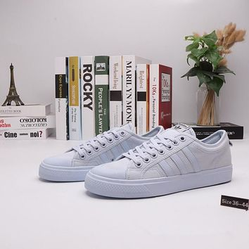 """""""Adidas x Nizza"""" Women Campus Casual Candy Colors Solid Color Canvas Plate Shoes Sneakers"""