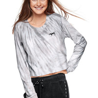 Cropped Long Sleeve Tee - PINK - Victoria's Secret