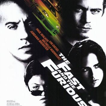 The Fast and the Furious 11x17 Movie Poster (2001)