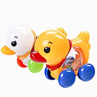 Kids Baby Toys Traditional Pull Along Duck Plastic Toddler Kids Baby Learn Walk Toys For Children Random