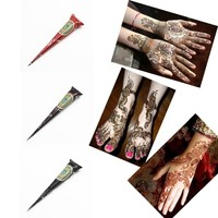 Indian Tattoo Henna Paste for Body Drawing