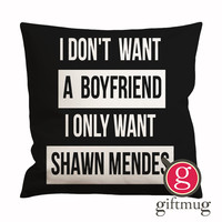 Shawn Mendes Quotes Cushion Case / Pillow Case