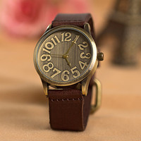 Mens Watch Leather