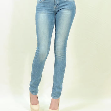 3d washed slim skinny jeans Just USA