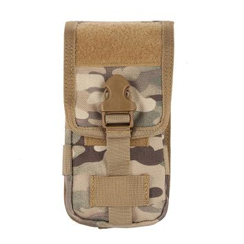 600D Tratical Case Cover Mobile Phone Coque Military Tactical Camo Belt Pouch Bag Hot Sale