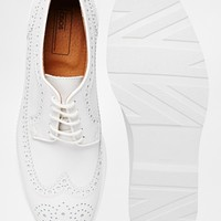ASOS Brogue Shoes in Leather