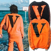 Off White X Vlone Round Neck Sweater M Xxl | Best Deal Online