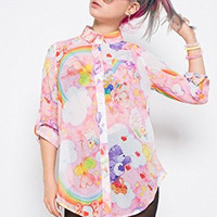 Iron Fist Womens Clouds of Caring Blouse