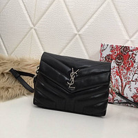 ysl women leather shoulder bag shopping satchel ysl tote bag handbag 32