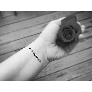 hashtag custom tattoos bachelorette party temporary tattoo custom hashtag party favors