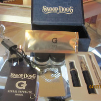 snoop dogg  dry herb vapor kit