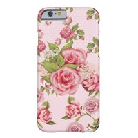 Pink Rose Elegance iPhone 6 Case