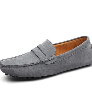 Summer Canvas Loafers Men