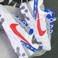 shosouvenir NIKE React Element 55 white/habanero red/game royal