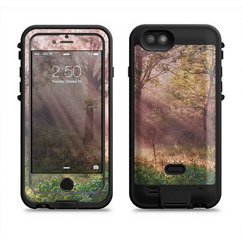 The Pink Sun Ray Meadow  iPhone 6/6s Plus LifeProof Fre POWER Case Skin Kit