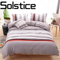 Solstice Home Textile Fashionable skin-friendly thickening fleece activity printed bedding Bed linen Quilt cover Pillowcase