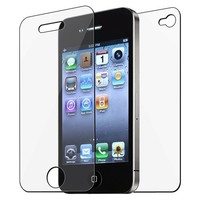 eForCity 3x Front/Back Screen Protector Guard for iPhone® 4 4S 4G 4GS G 4th