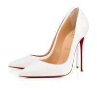 Christian Louboutin Cl So Kate Latte Leather 13w Pumps 3160759wha8