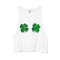 St. Paddy's Muscle Tank - PINK - Victoria's Secret