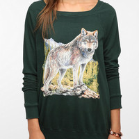 Urban Outfitters - Truly Madly Deeply Animal Graphic Sweatshirt