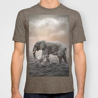 May the Stars Carry Your Sadness Away (Elephant Dreams) T-shirt by soaring anchor designs ⚓   Society6