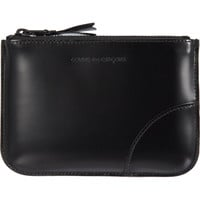 Luxury Leather Small Zip Pouch