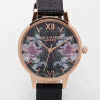 Olivia Burton Winter Florals Mirror Floral Watch