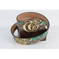 Gucci Belt New Girls Boys Classic Belt Woman Men Leather Belt046