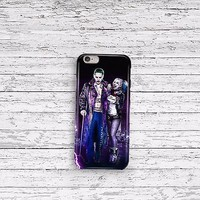 Suicide Squad Jared Leto Joker Harley Quinn iPhone 4 5 6 and Samsung Galaxy Case