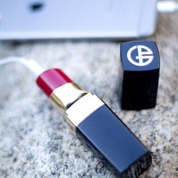 Lipstick Power Bank - Red