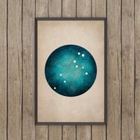 Leo Art, Leo Constellation, one of a kind