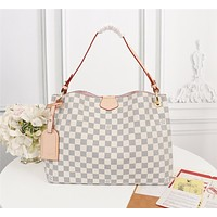 New LV Louis Vuitton M43701 Women's Leather Shoulder Bag LV Tote LV Handbag LV Shopping Bag LV Messenger Bags 35X26X10cm