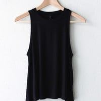 Sleeveless Knit Tank Top